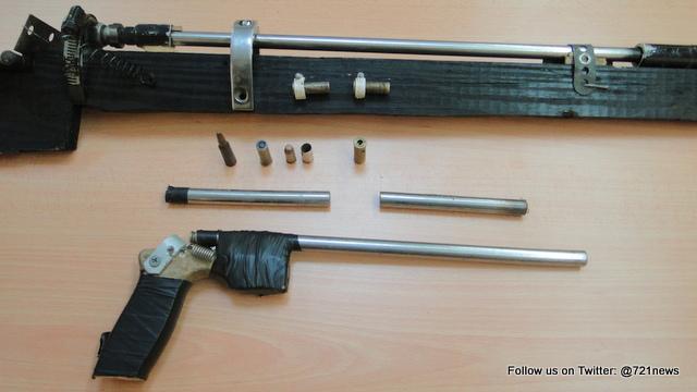 POLICE REPORT fake gun