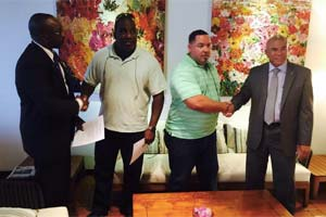 Miami-based boxing Promoter Archie Keaton, CEO of Archie Keaton Entertainment, has successfully inked a tree year tourism deal with the government of St Maarten. The project commences with a long discussed grudge match between former world champion and future Hall of Famer Roy Jones Jr. and two-time world title challenger Danny Santiago on August 29 in Phillipsburg, St Maarten. Keaton has hired well known matchmaker Will Ruiz to put together world class matches.