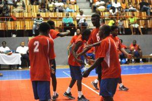 Celebration of Antigua & Barbuda against Dutch Saint Marrten